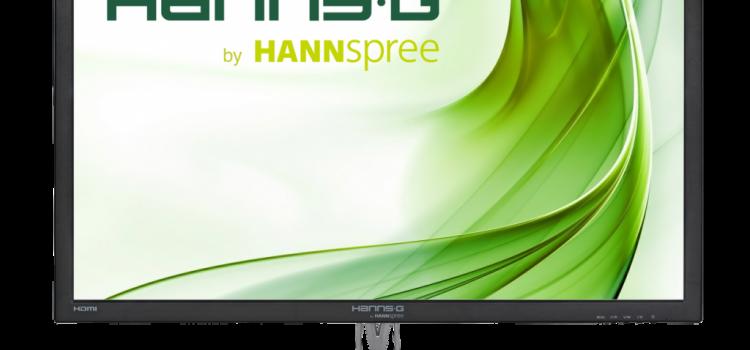 Máxima calidad y espacio de trabajo con el nuevo monitor HANNSpree.
